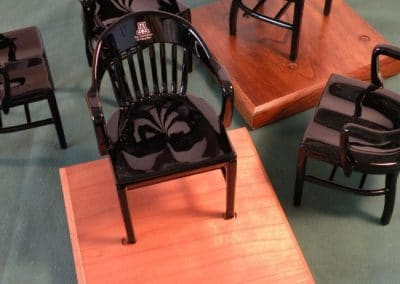Miniature Chair of the University of Arizona