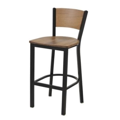 Affinity Steel Buckeye Bar Chair 24'' tall