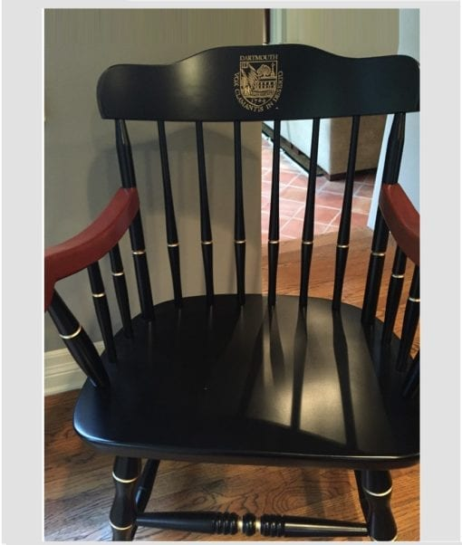 Captain's Chair for Dartmouth College