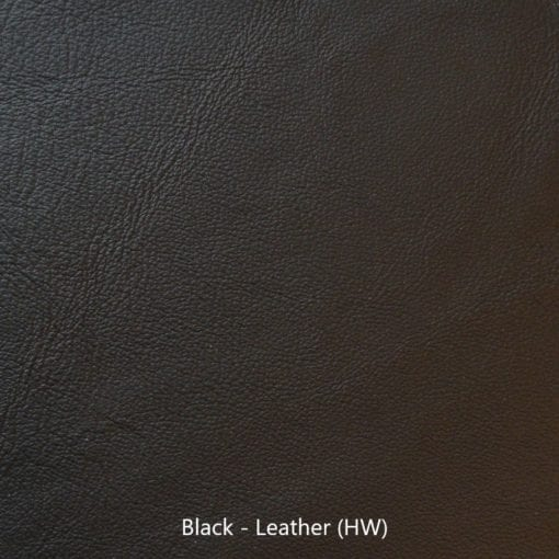 Leather Sample - Black Leather