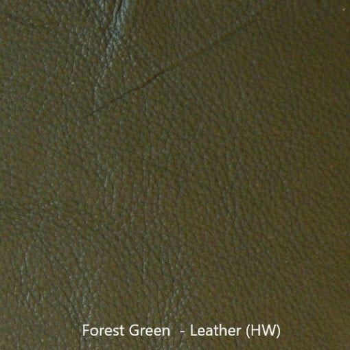 Leather Sample - Forest Green Leather