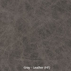 Leather Sample - Gray Leather