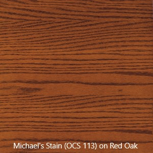 Stain Sample - Michael's Stain (OCS 113) on Red Oak