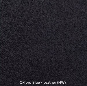 Leather Sample - Oxford Blue - Navy Blue