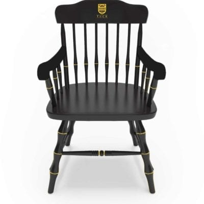 ATCC Chair wiht Gold Tuck logo