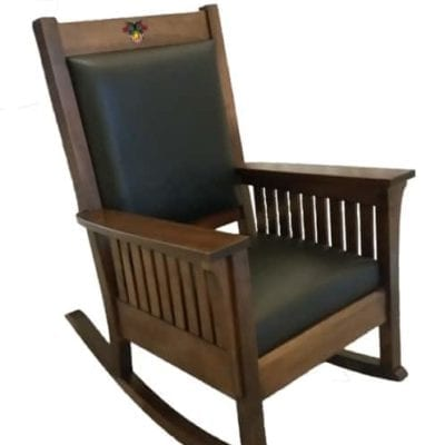 Affinity Mission Rocking Chair for West Point