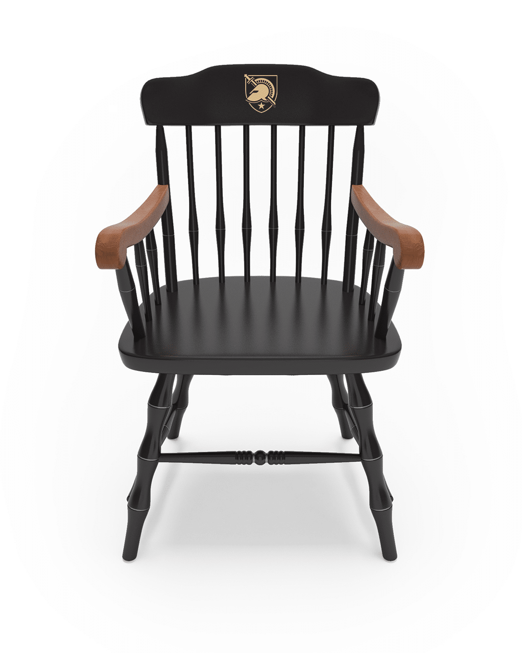 Fantastic West Point U S Military Academy Affinity Traditional Captains Chair Atcc Traditional Crest In Gold Alumnichairs Com Dailytribune Chair Design For Home Dailytribuneorg