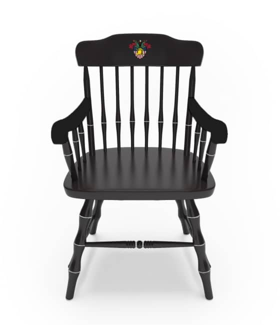 Brilliant West Point U S Military Academy Affinity Traditional Captains Chair Atcc Traditional Crest In Color Dailytribune Chair Design For Home Dailytribuneorg