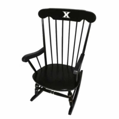 Xavier University Affinity Traditional Rocking Chair